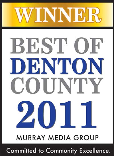 Best of Denton County 2011 Murray Media Group Winner