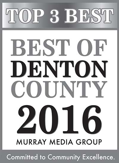 Best of Denton County 2016 Murray Media Group Winner