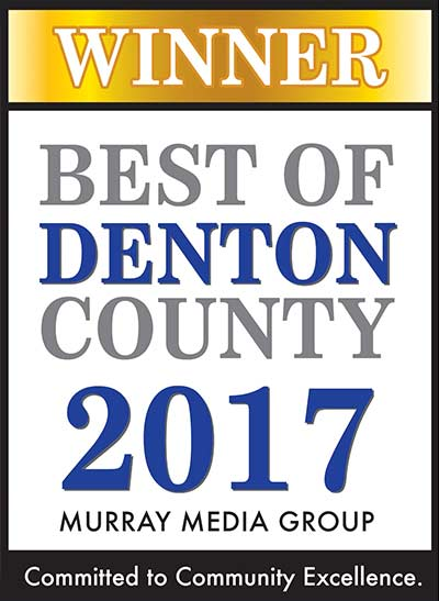 Best of Denton County 2017 Murray Media Group Winner